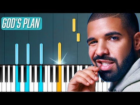 "Drake - ""God's Plan"" Piano Tutorial - Chords - How To Play - Cover"