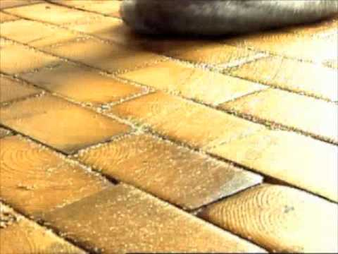 How To Sawdust Grout Youtube