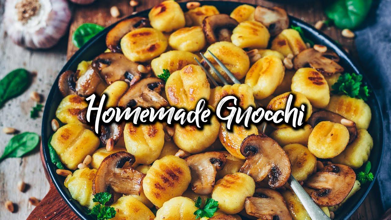 Homemade Gnocchi * Vegan Recipe