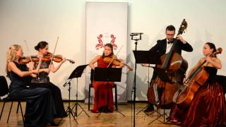 "Ensemble ""International"" Antonin Dvorak Quintet in G major, op. 77"