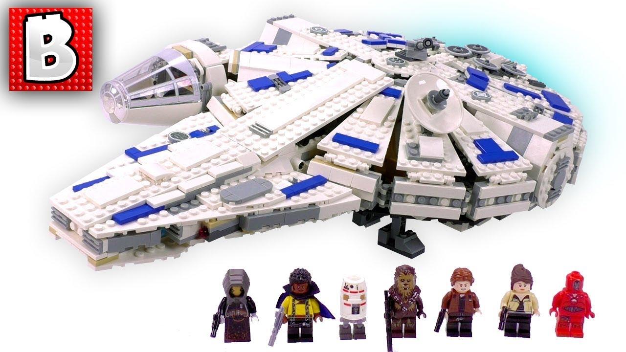 LEGO STAR WARS STORY MINIFIGURE HAN SOLO 75212 MILLENNIUM FALCON KESSEL