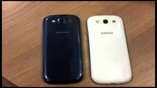Samsung Galaxy S3 Pebble Blue vs Marble White! WHICH COLOR IS BETTER(Like it and Share it., 2013-05-13T12:30:21.000Z)