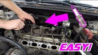 2007-2012 Nissan Sentra Spark Plug Change