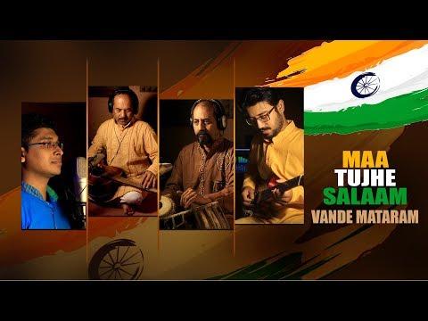 Maa Tujhe Salaam - Vande Mataram   Ayon Debangshu Ashes Abesh   Independence Day Special   KRS
