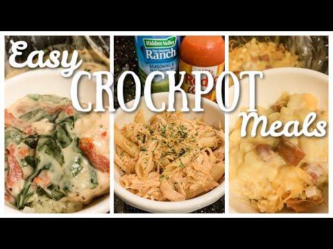 5 FAVORITE CROCKPOT MEALS COMFORT FOOD & WW APPROVED!