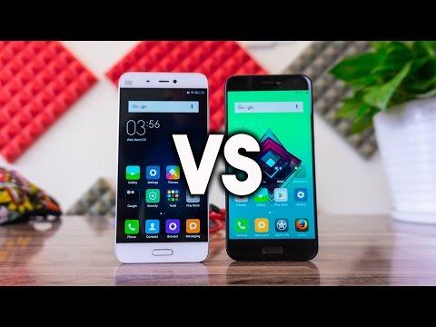 Comparativa Xiaomi Mi5C vs MI5