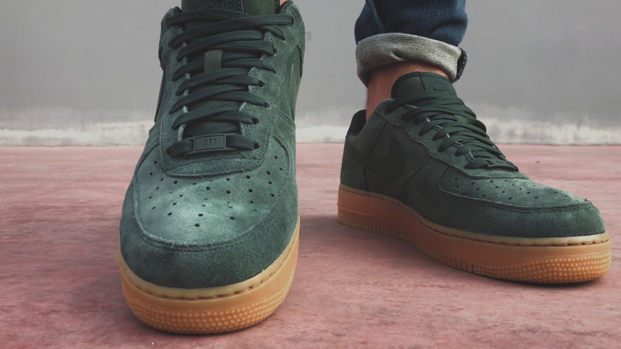 Nike AirForce 1 '07 - Suede Outdoor Green | Sneaker10