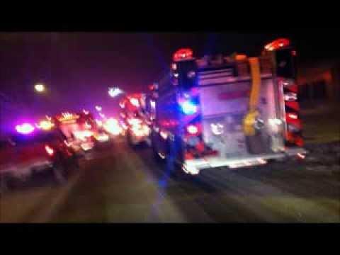 Erin Hamlin Parade in Remsen, NY 2/27/14 - Raw Video