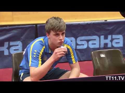 Truls Moregard vs Hiroto Shinozuka - Final WJC Swedish/Safir International 2018