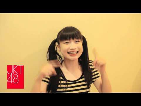 JKT48 live theatre concert - pajama drive - sonia's message