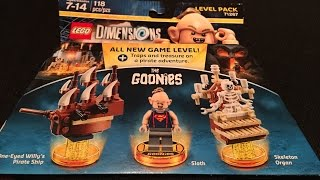 goonies level pack lego dimensions unboxing building