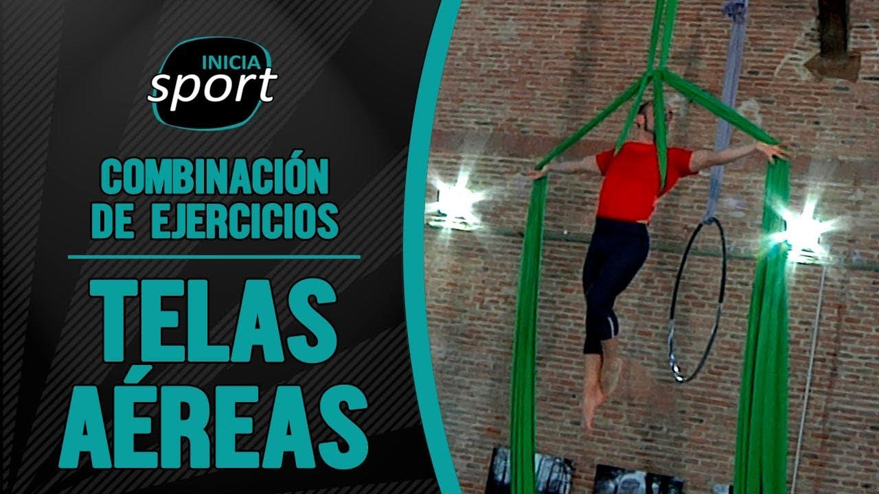 TELAS AÉREAS 10 | Combinación de ejercicios
