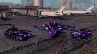 |Tutorial| Saints Row 3 how to customize non customizable vehicles