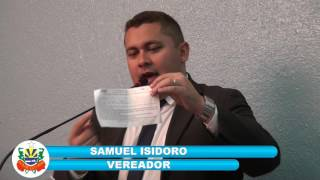 Samuel Isidoro pronunciamento 30 06 2017