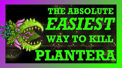 The ABSOLUTE EASIEST Way to Beat Plantera in Terraria!