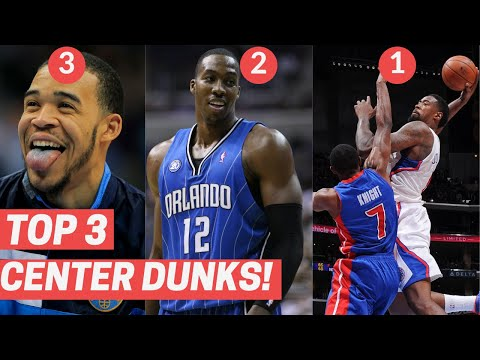Top 3 Dunks From Centers Every Year! (2010-2020)