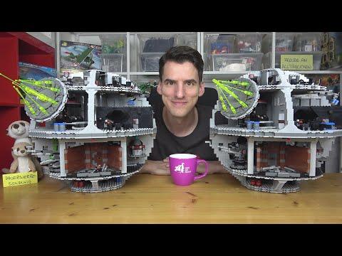 Zwei Riesige Oschis! Der Einzig Objektive Death Star-Vergleich - LEGO® 10188 Vs. 75159