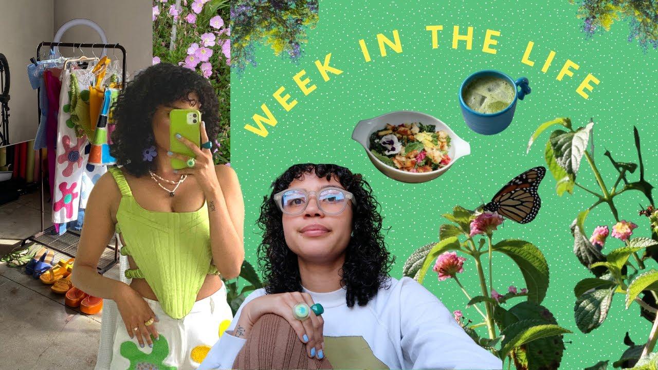 week in the life   friend hangs, getting work done, + mini breakdown :')