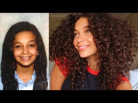 MY CURLY HAIR JOURNEY | (with pictures) | Jayme Jo