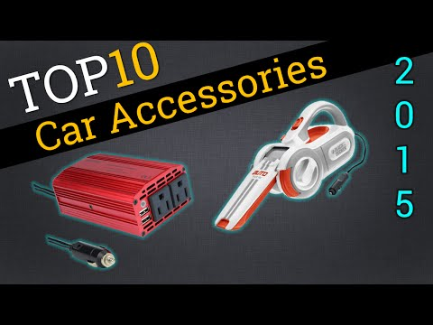 Top 10 Car Accessories 2015 | Compare Coolest Auto Add-ons