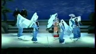 Stage of Japanese Dance by Mariko Takafuji who is the 1st grand mas...