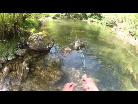 Small River fly fishing