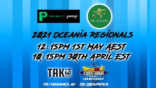 Dragon Ball Super Card Game - Oceania Online Regional - 1st May 2021