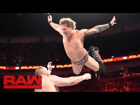Chris Jericho vs. Samoa Joe: Raw, April 17, 2017