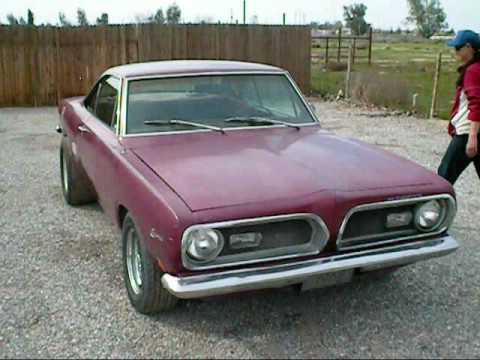 1969 Plymouth Barracuda up for auction on ebay