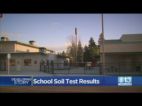 Test Results In For Soil Near Ripon Elementary School
