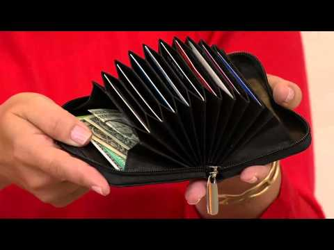 Rogue Wallet Accordion Wallet With Built-in RFID Protection With Rachel Boesing