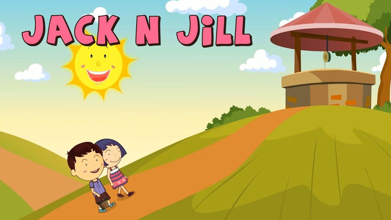 Jack N Jill | Nursery Rhymes and Songs | Kiddy Songs - YouTube
