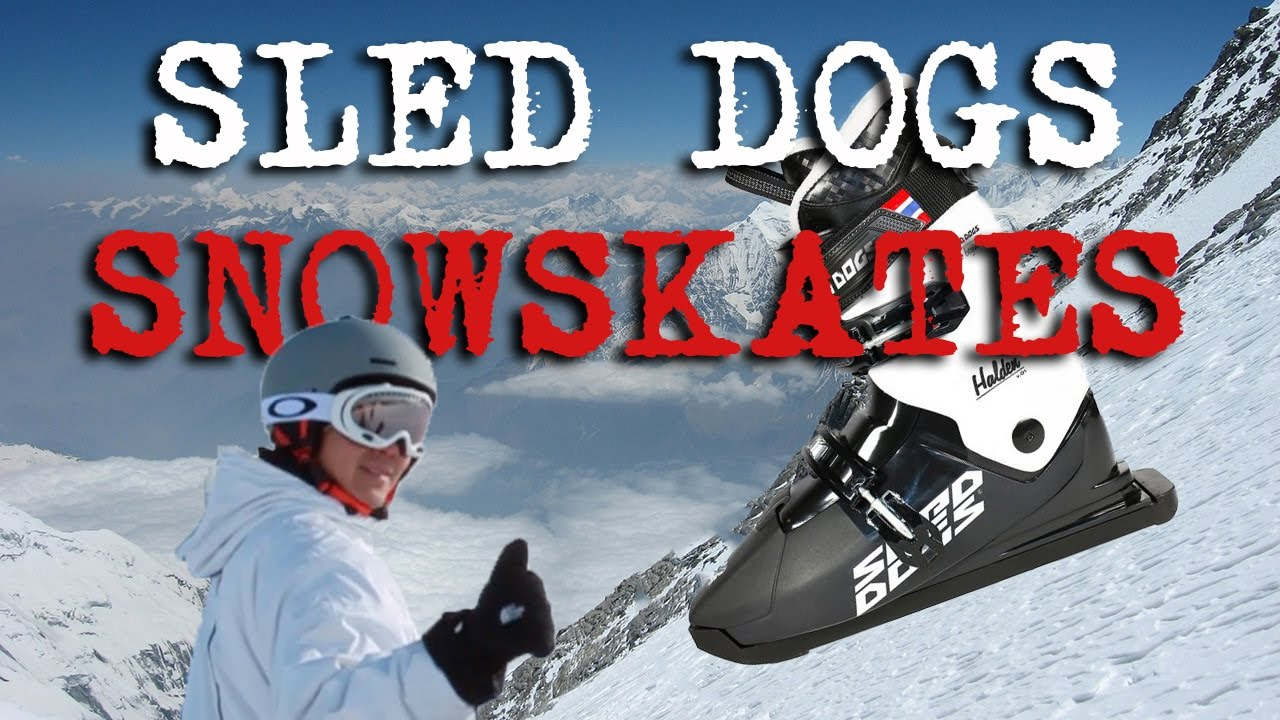 Snow Skates with Sled Dogs