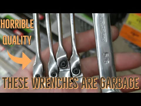 Harbor Freight Wrenches The WORST Set