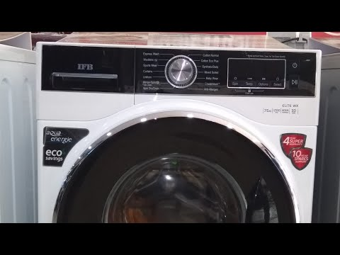 ifb front load washing machine demo in telugu | review