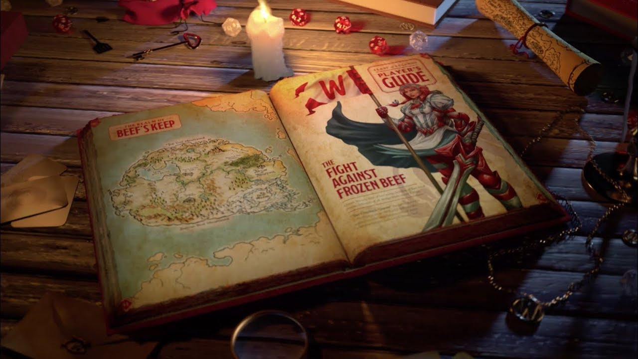 Finally, Wendy's Made a Tabletop RPG at NYCC - Geek com