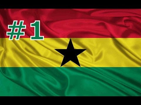 "Let's play Democracy 3 Africa - Ghana 130% - part 1 ""The Star of Africa"""