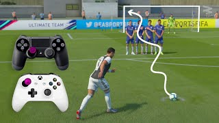 FIFA 20 Knuckleball Power Free Kick Tutorial