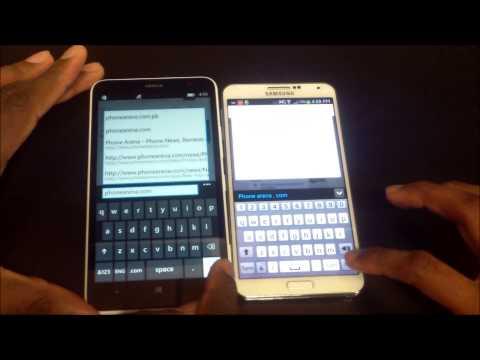 Nokia Lumia 1320 VS Samsung Galaxy Note 3