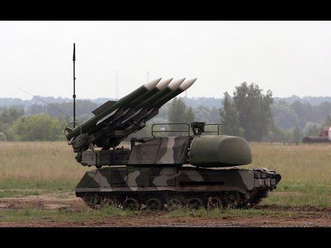 Украинские ЗРК Бук М1