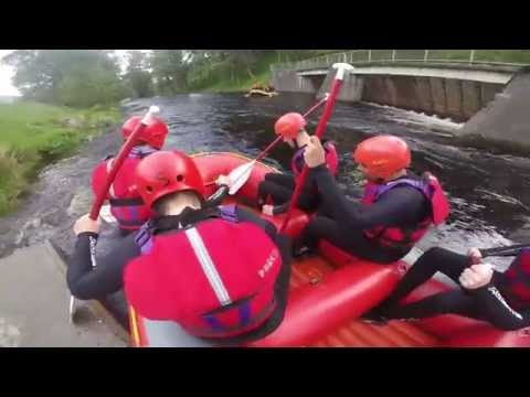 White Water Rafting - Wales - Bala