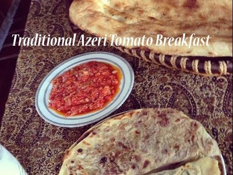 HowTo: Unreal Tomatoe Breakfast || Traditional Azeri Breakfast || Pomidor Cigirtmasi
