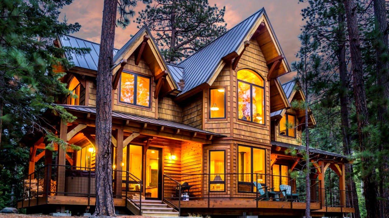 Hillside Cabin Luxury Vacation Rental At Tumalo Lake