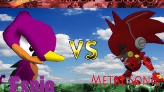 Brawl Hack Battles Ep6: Espio VS. Metal Sonic Kai