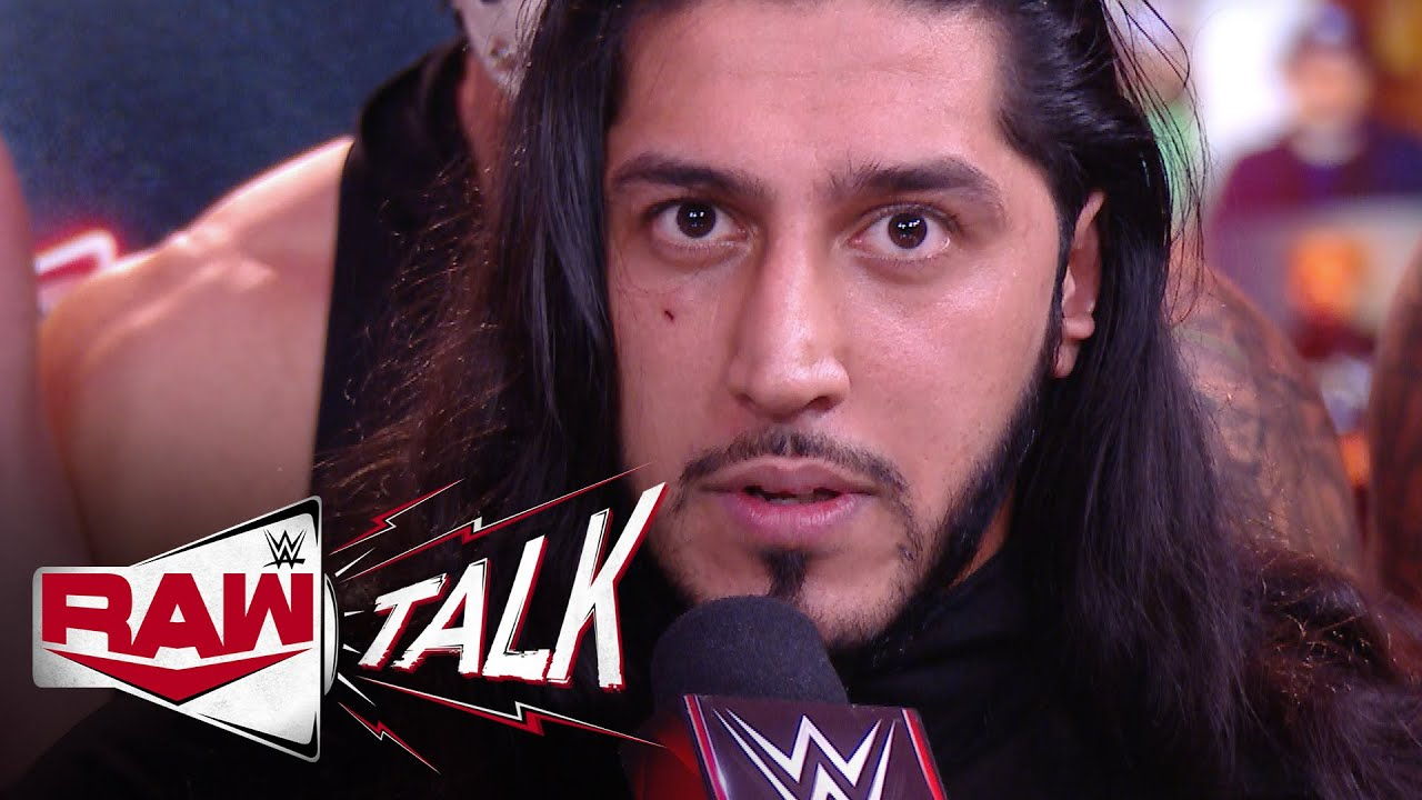 Mustafa Ali is outraged by Raw Legends Night: Raw Talk, Jan. 4, 2021