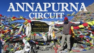 Solo Backpacking to Annapurna Circuit Trek, Nepal