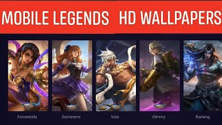 Gambar cover MOBILE LEGENDS HD WALLPAPERS DOWNLOAD GIVEAWAY 1K SUBS