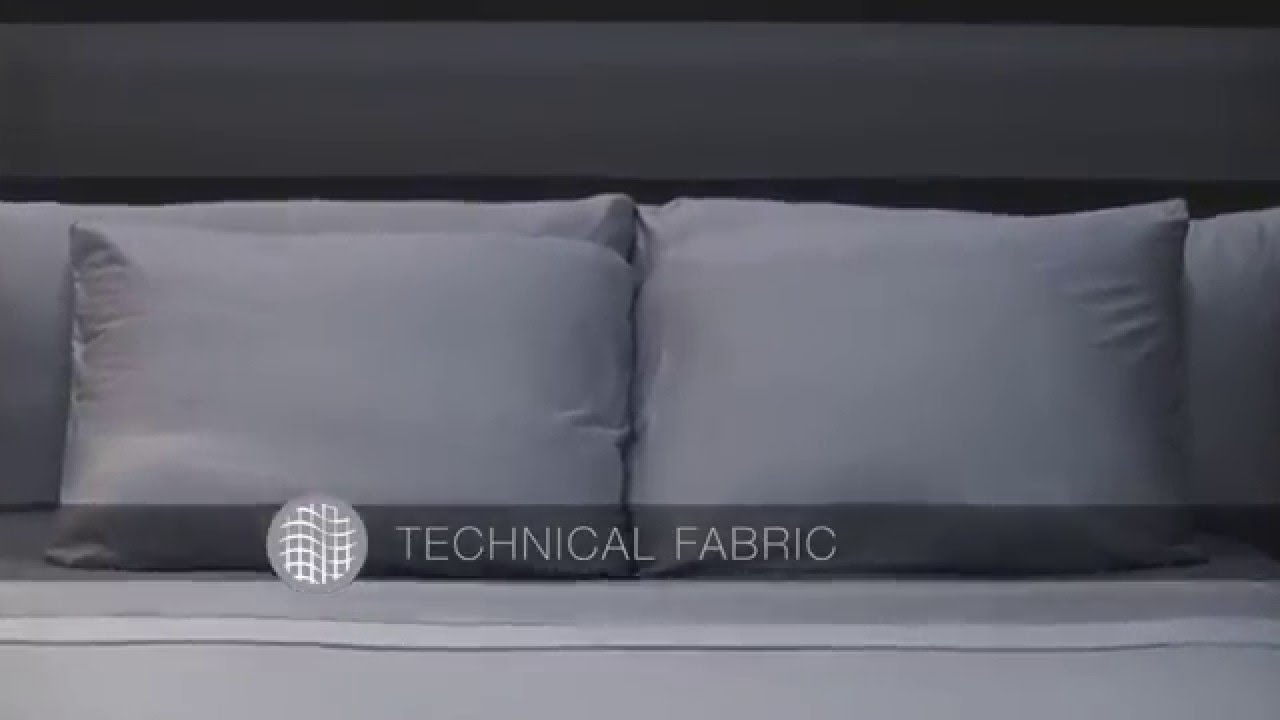 THERMA LUX Cooling Duvet Cover // White (Full/Queen) video thumbnail