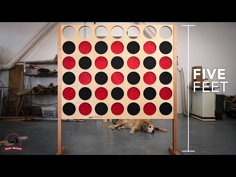 Giant Connect 4 Build