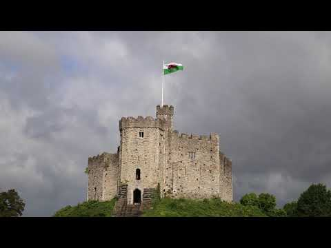 Wales Cardiff Castle / Pays De Galles Cardiff Chateau